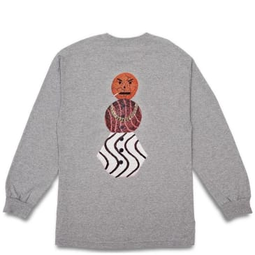Quartersnacks Snackman Long Sleeve T-Shirt - Heather