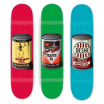 Traffic Skateboards - Oil Can Series