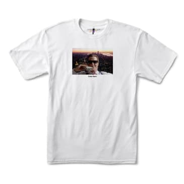 color bars x american psycho nyc tee (white)