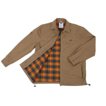 Theories Of Atlantis Lantern Club Jacket - Brown