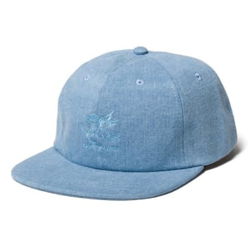 "THE QUIET LIFE- ""KENNY POLO HAT"" (LIGHT DENIM)"