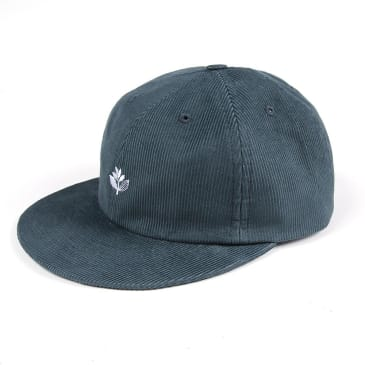 Magenta Skateboards - Corduroy 6 Panel Cap - Teal