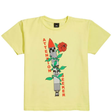 OBEY Attention Seeker T-Shirt - Yellow