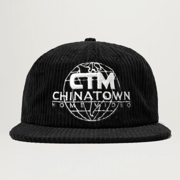 Chinatown Market Corduroy Entertainment Hat (Black)
