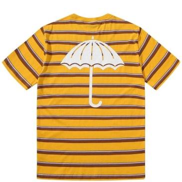 Hélas Stripy Umbrella T-Shirt - Yellow