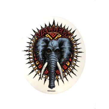 Powell Peralta Skateboards Mike Vallely Elephant Oval Sticker