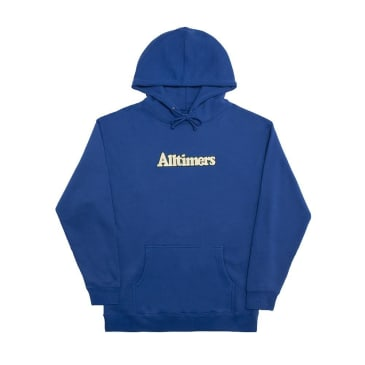 Alltimers Broadway Embroidery Hoodie - Royal Blue