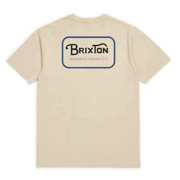 Brixton - Brixton Grade Standard T-Shirt | Vanilla & Blue