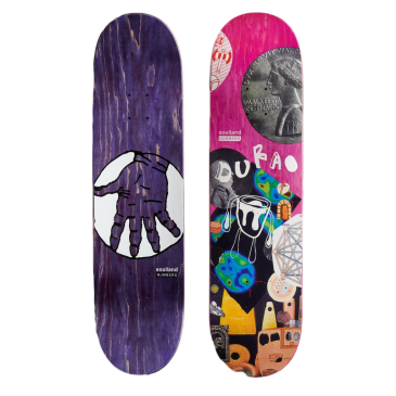Numbers Durao Edition 7 Skateboard Deck - 8.3""
