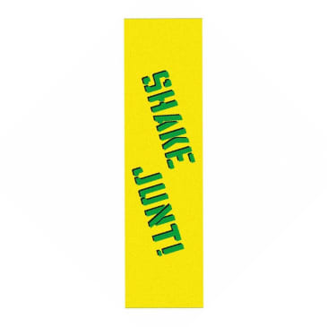 Shake Junt Sprayed Griptape - Yellow/Green