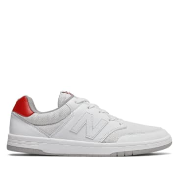 New Balance All Coasts 425 Skate Shoes - White / Red