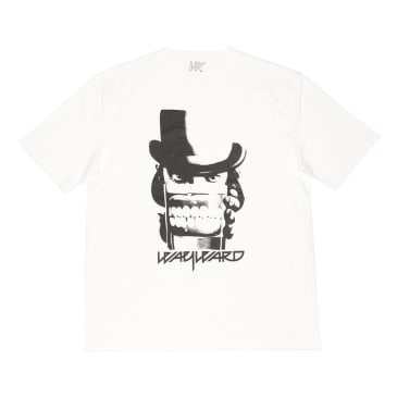 Wayward Skateboards - CLOCKWERK T-SHIRT WHITE