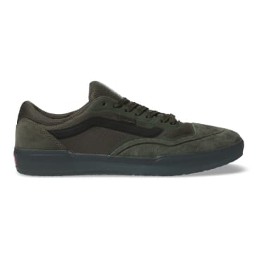 Vans AVE Pro Rainy Day Skateboard Shoes - Forest Night/Black