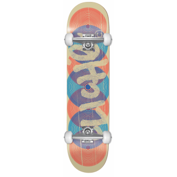 "Cliche - 8.125"" Hypnoze First Push Complete Skateboard (Blue)"