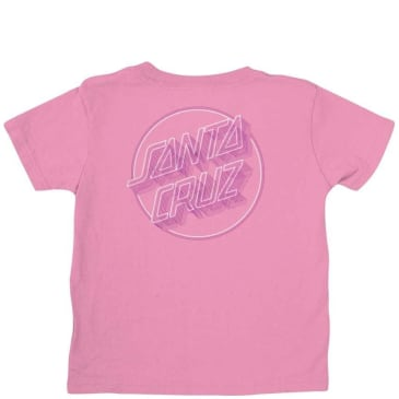 Santa Cruz Toddler Linear Dot T-Shirt - Pink