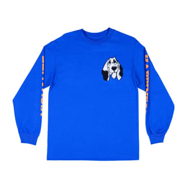 Quasi Happiness Long Sleeve Tee Royal