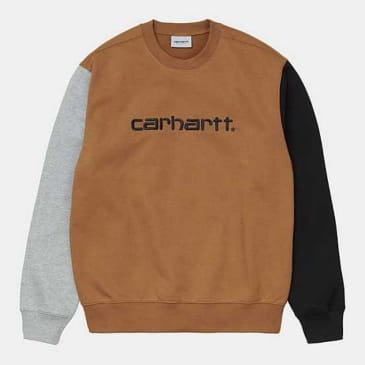Carhartt WIP - Tricol Sweat - Hamilton Brown