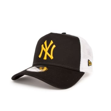 New Era League Essential New York Yankees 9FORTY Trucker Cap - Black