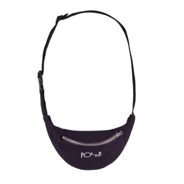 Polar Script Logo Hip Bag - Prune