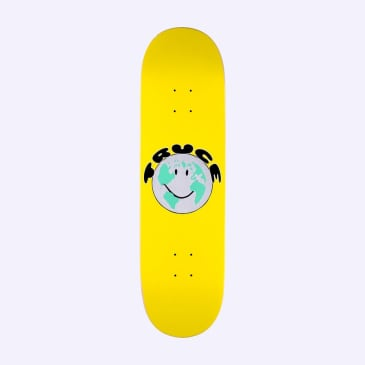 Quasi Truce Yellow Skateboard Deck - 8.75""