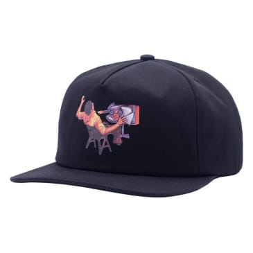 Hockey Ultraviolence 5-Panel - Black