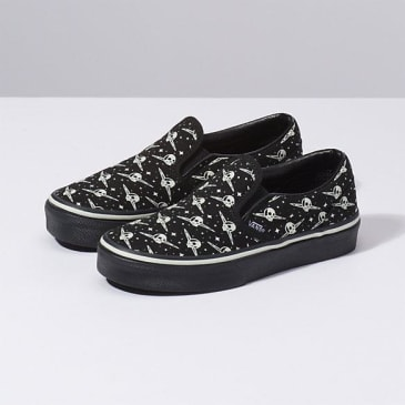 Vans Youth Classic Slip On (Glow Galaxy)