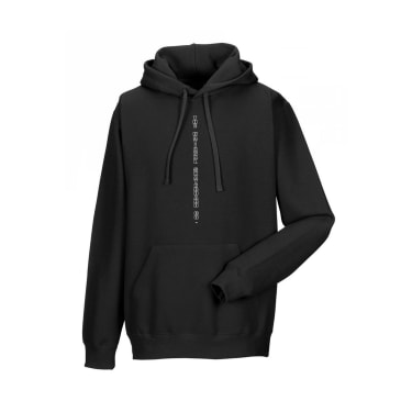 The National Skateboard Co. Fire Hoodie - Black