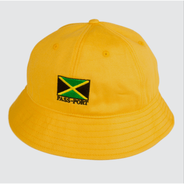 Passport Skateboards - Jamaica Twill Bucket Hat (Yellow)