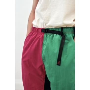 Shell Packable Shorts Raspberry x Kelly Green