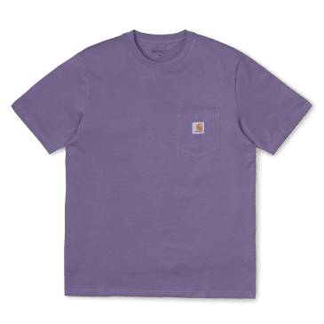 Carhartt WIP S/S Pocket T-Shirt - Dusty / Mauve