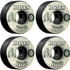 Bones 100's OG Money Black V4 52mm