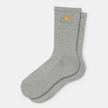 Carhartt WIP - Chase Socks - Grey Heather