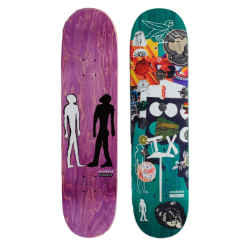 Numbers Teixeira Edition 7 Skateboard Deck - 8""