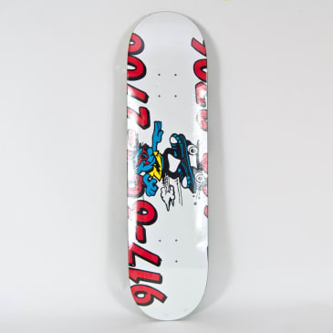 "Call Me 917 - 8.18"" Double Dare Skateboard Deck"