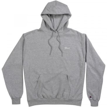Grand Collection Grey Script Hoodie