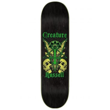 "Creature Skateboards - Russell Coat Of Arms VX Deck 8.6"" Wide"