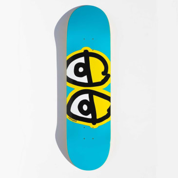 Krooked Team Eyes Skateboard Deck - 8.38""