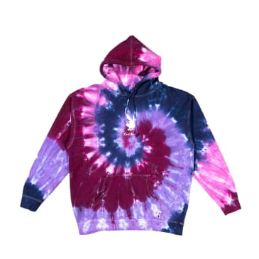 Color Bars - Playboy Tie Dye Hoodie (Purple)