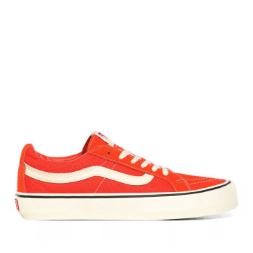 Vans Sk8-Low Reissue SF Skate Shoes - Tomato / Antique White