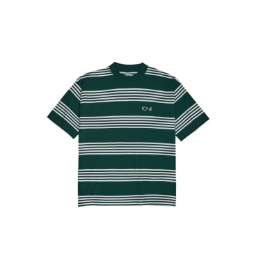 Polar Skate Co. - Striped Surf T-Shirt - Dark Green