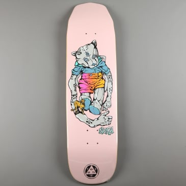 "Welcome 'Teddy - Nora Vasconcellos Pro on Wicked Queen' 8.6"" Deck (Pink)"