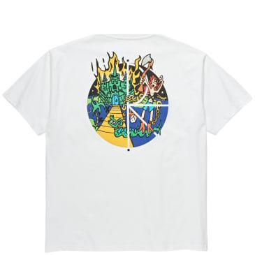 Polar Skate Co Castle Fill Logo T-Shirt - White