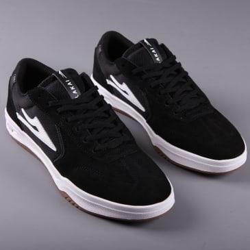 Lakai 'Atlantic' Skate Shoes (Black Suede)