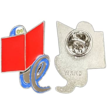 "WKND- ""BOOKWORM PIN"" (MULTI)"