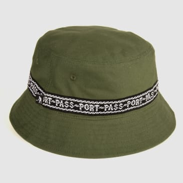 Pass~Port Barbs Bucket Hat - Green
