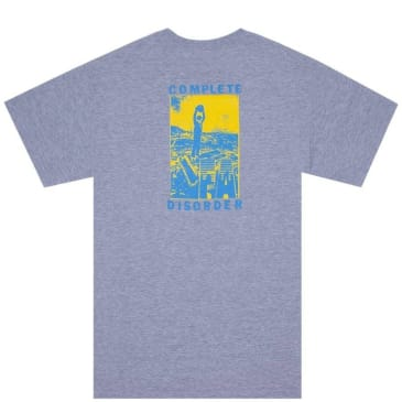 Fucking Awesome Disorder T-Shirt - Sport Grey