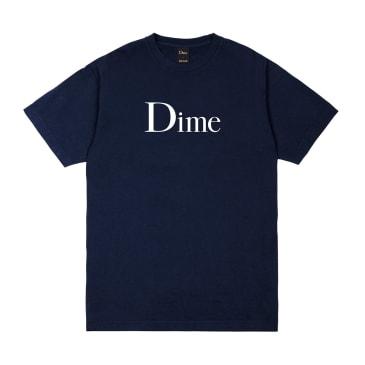 Dime Classic Logo T-Shirt - Navy