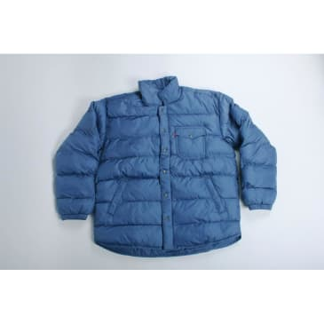 Levis Skateboarding Down Jacket Dutch Blue