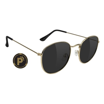 Glassy - Pierce High Roller Polarized Sunglasses - Rose Gold