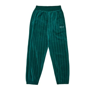 Polar Skate Co. - Velour Sweatpants - Dark Green